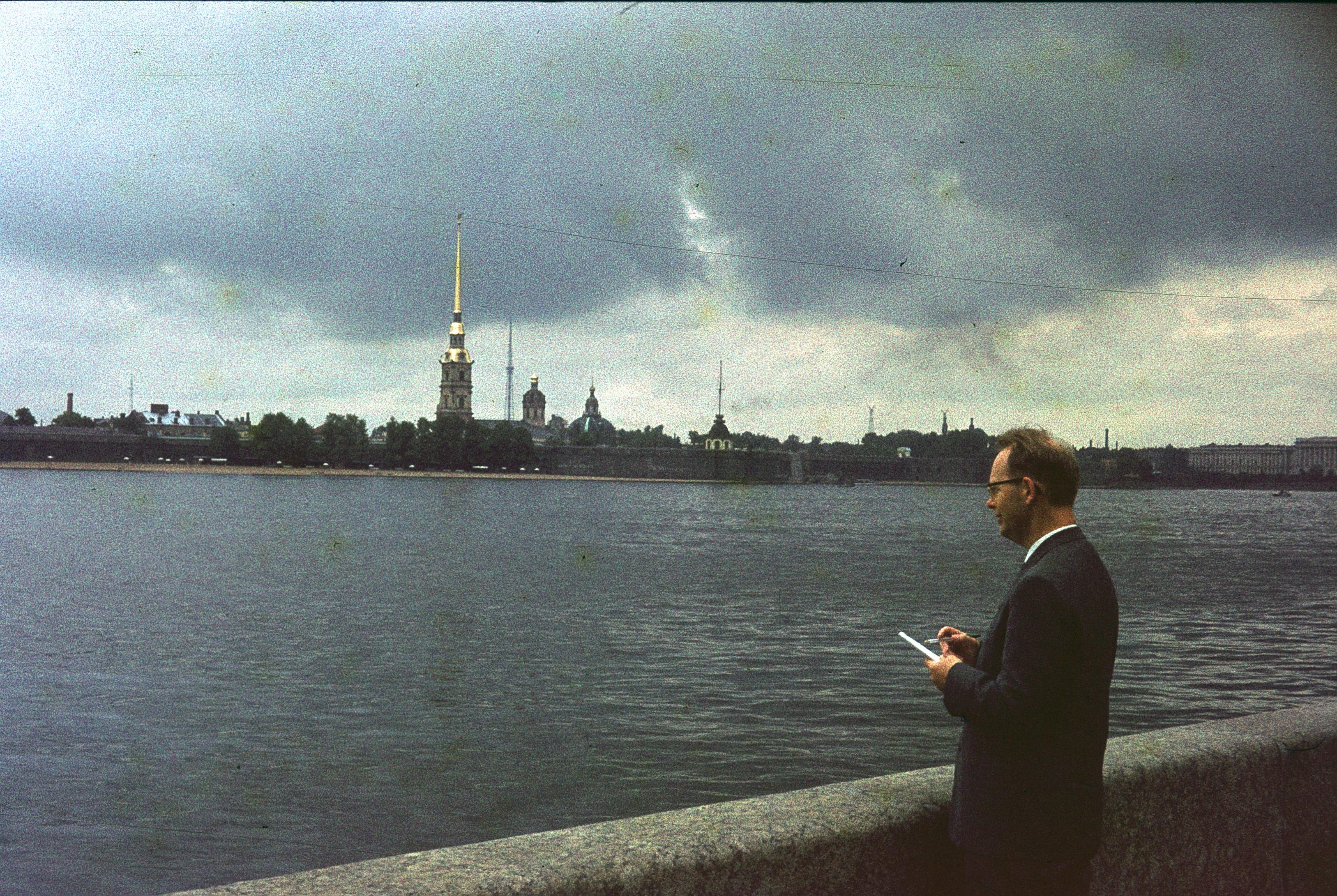 Ленинград. Вид Невы