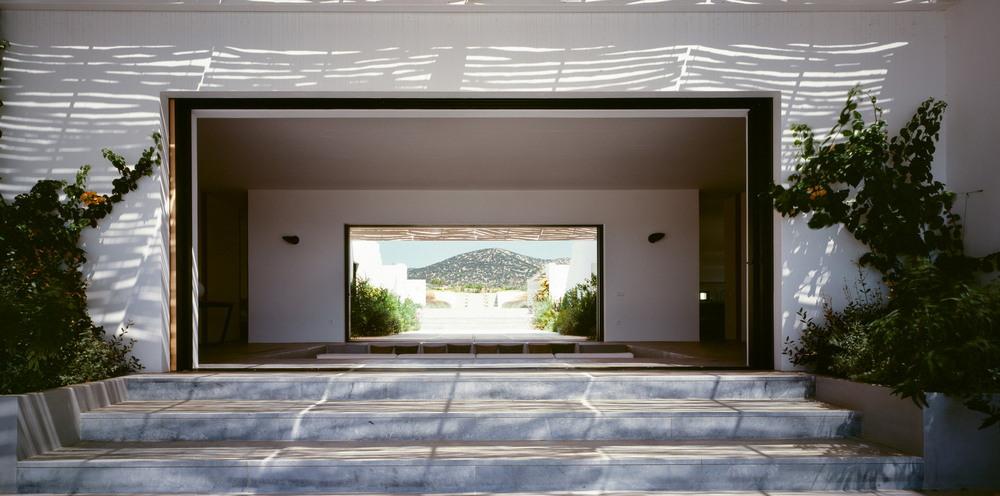 Вилла на острове Парос в Греции