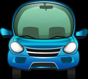 голубые автомобили