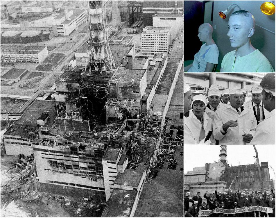 В память о Чернобыльской катастрофе