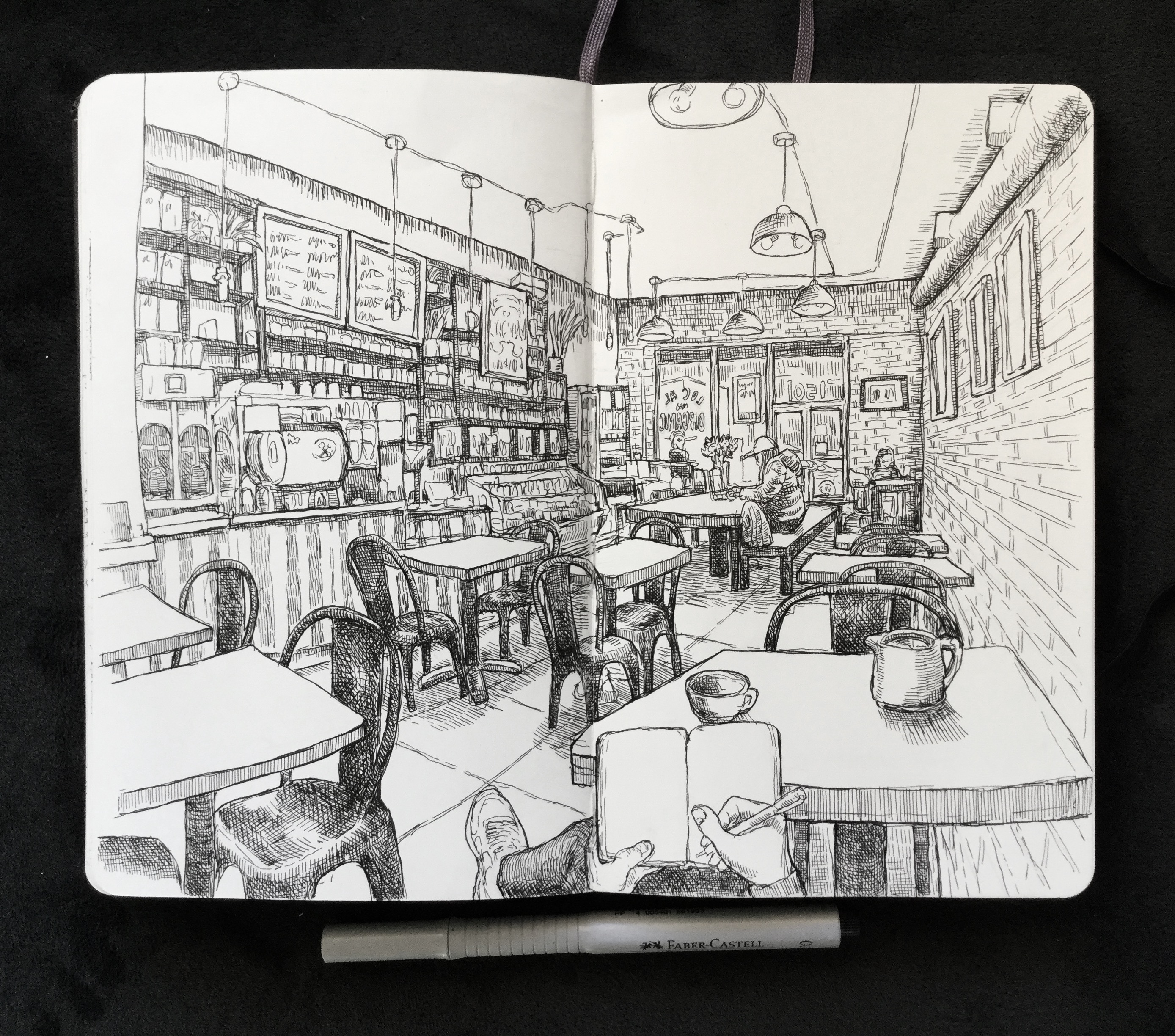 Impressive Pages of Sketchbook Drawings