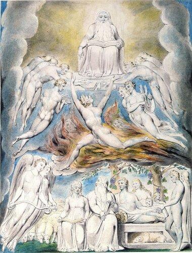 Сатана перед троном Господним