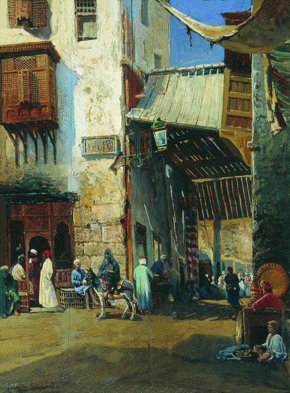 Каир. 1880-е Этюд Нижегородский государственный художественный музей.