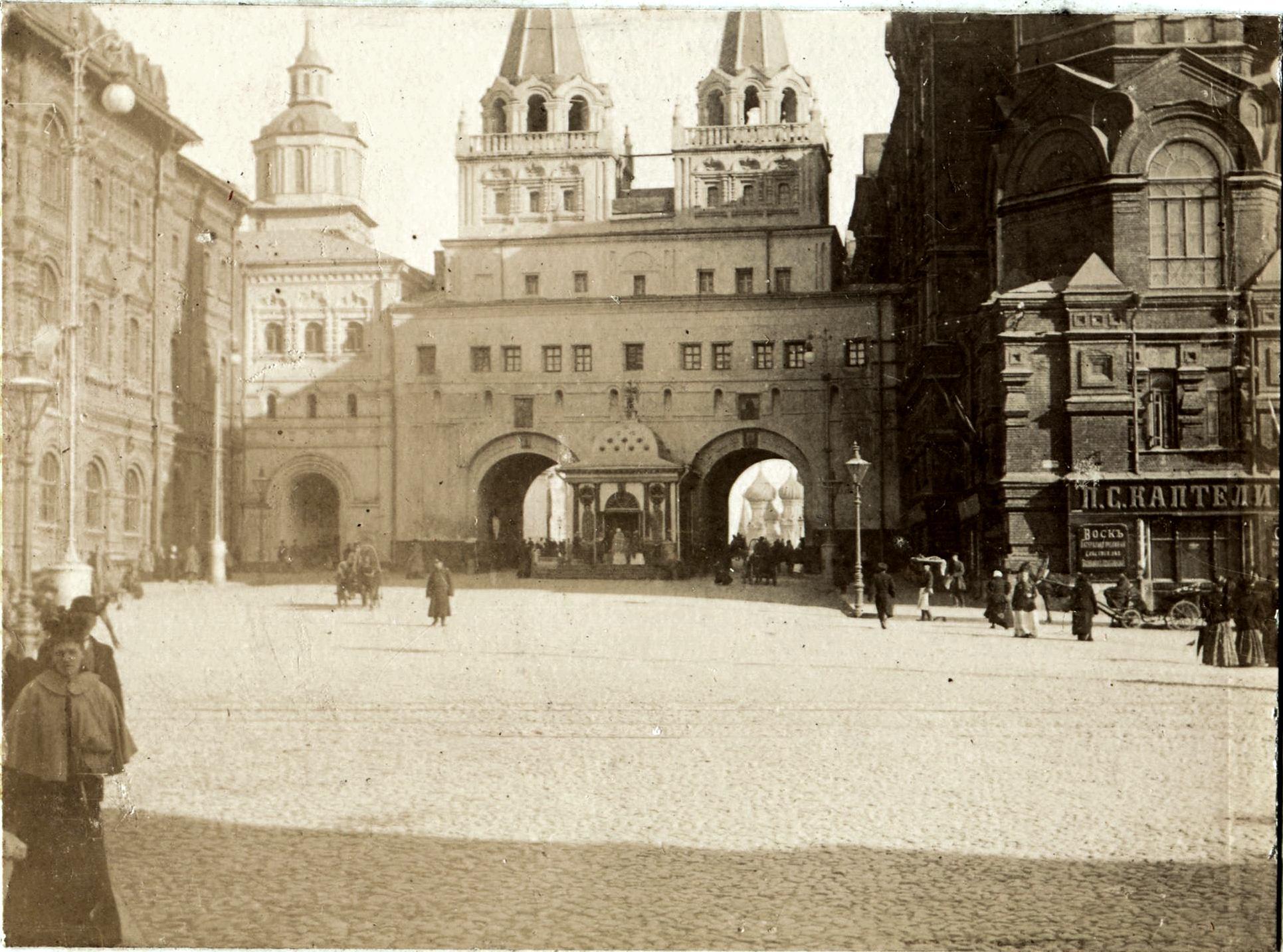 Воскресенские ворота в Кремле