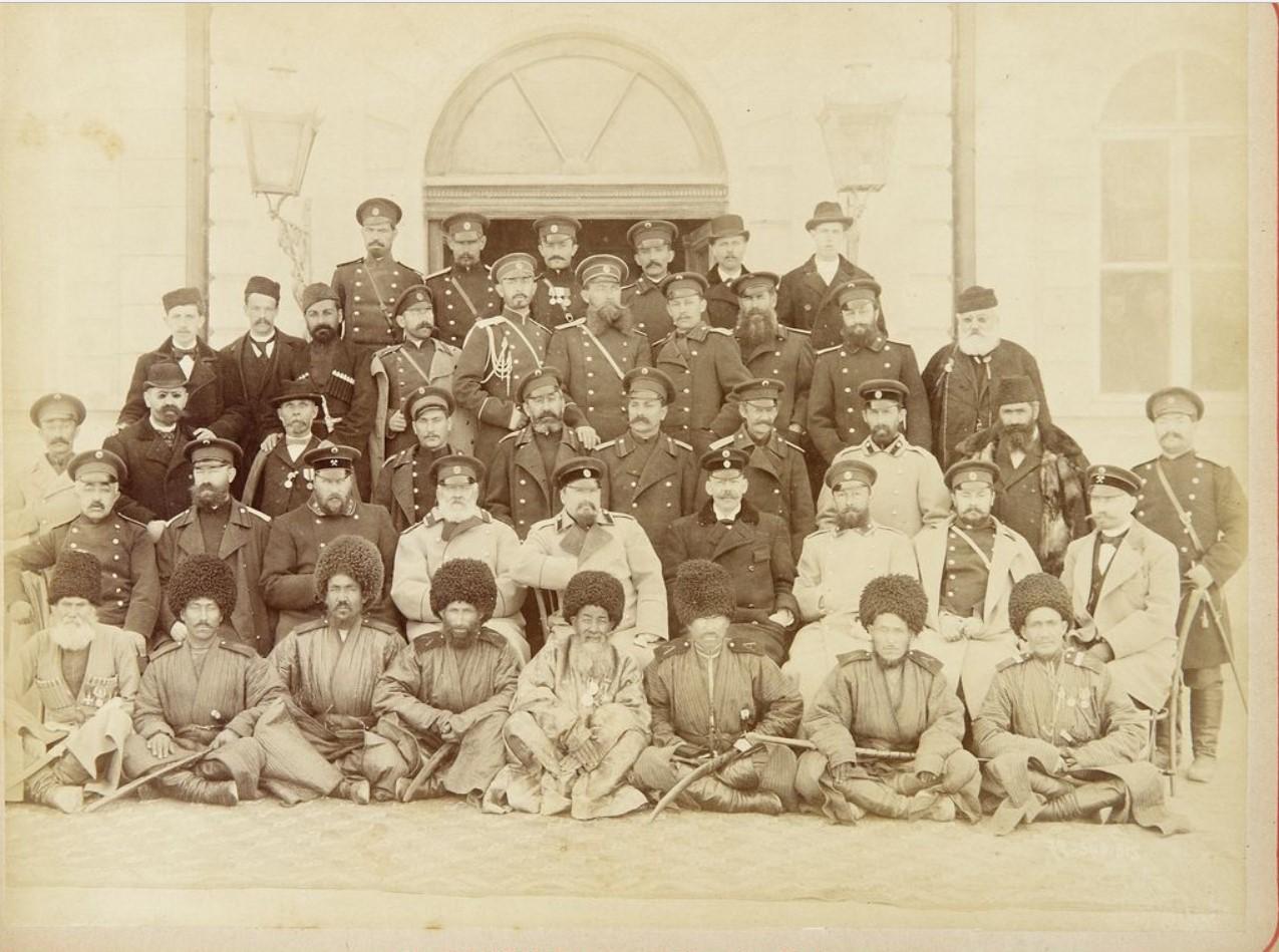 Фото военнослужащих искровой роты. 1880-е
