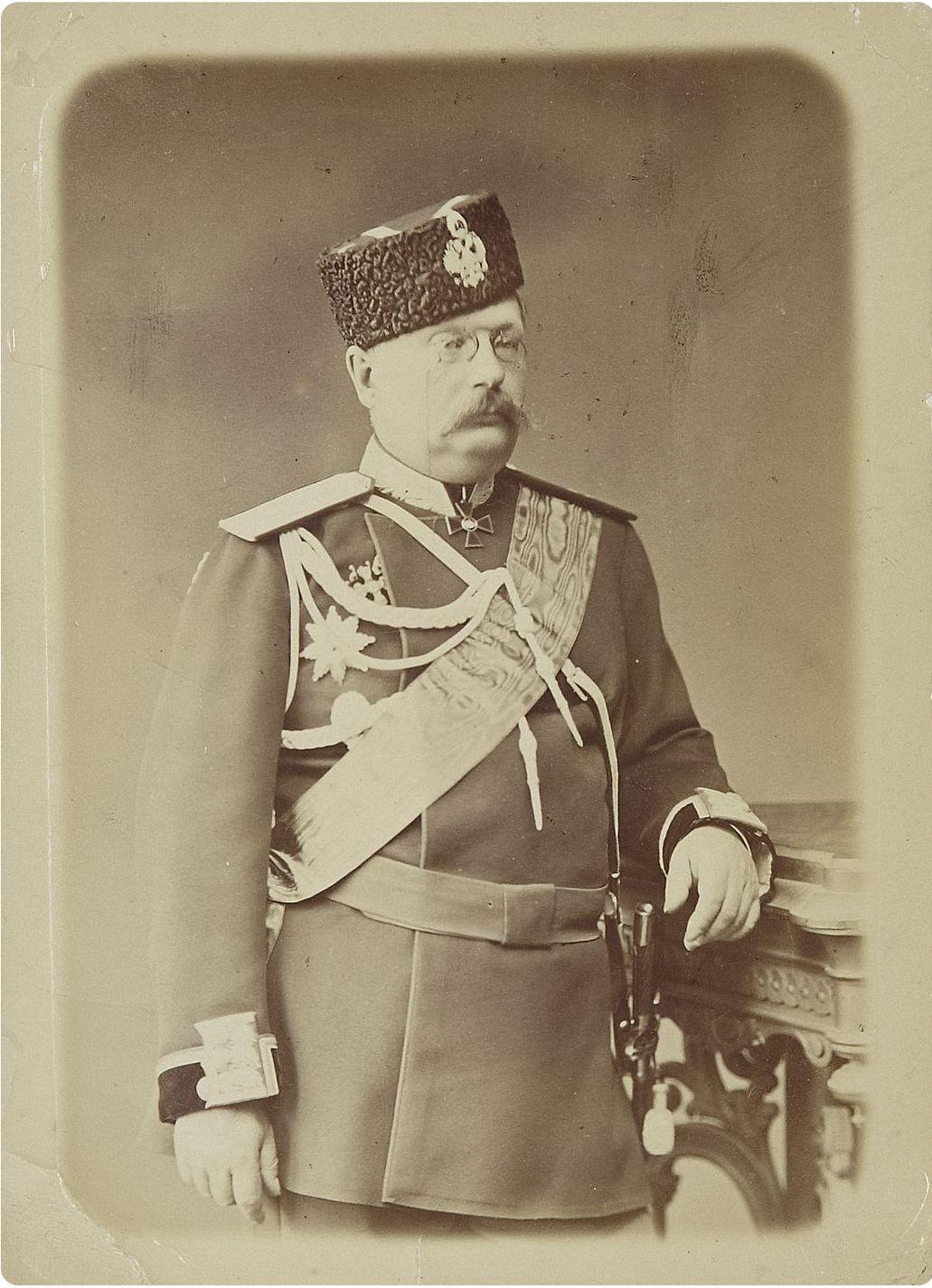 Генерального Штаба генерал-лейтенанта Стебницкого Иеронима Ивановича.  1886-1896