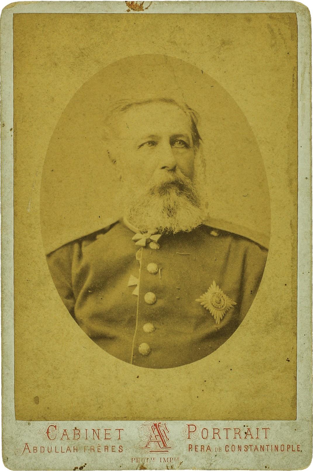 Фото главнокомандующего, генерала от инфантерии Радецкого Фёдора Фёдоровича. 1878