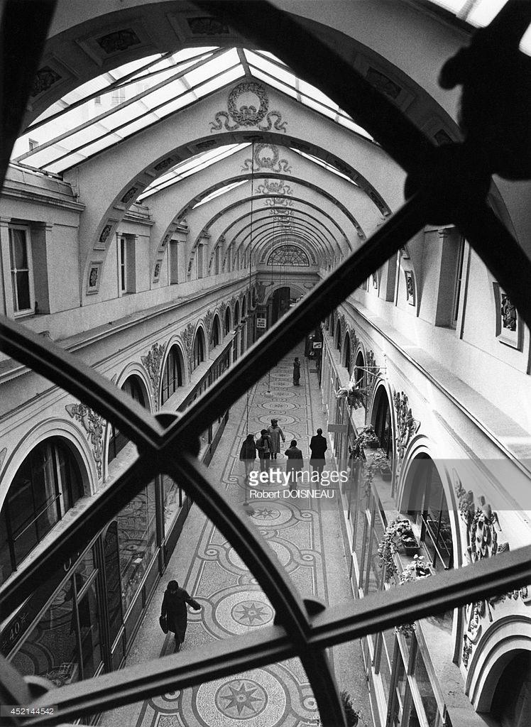 1981. Галерея Вивьен. Париж