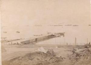 1905. Вид порта Корсаков
