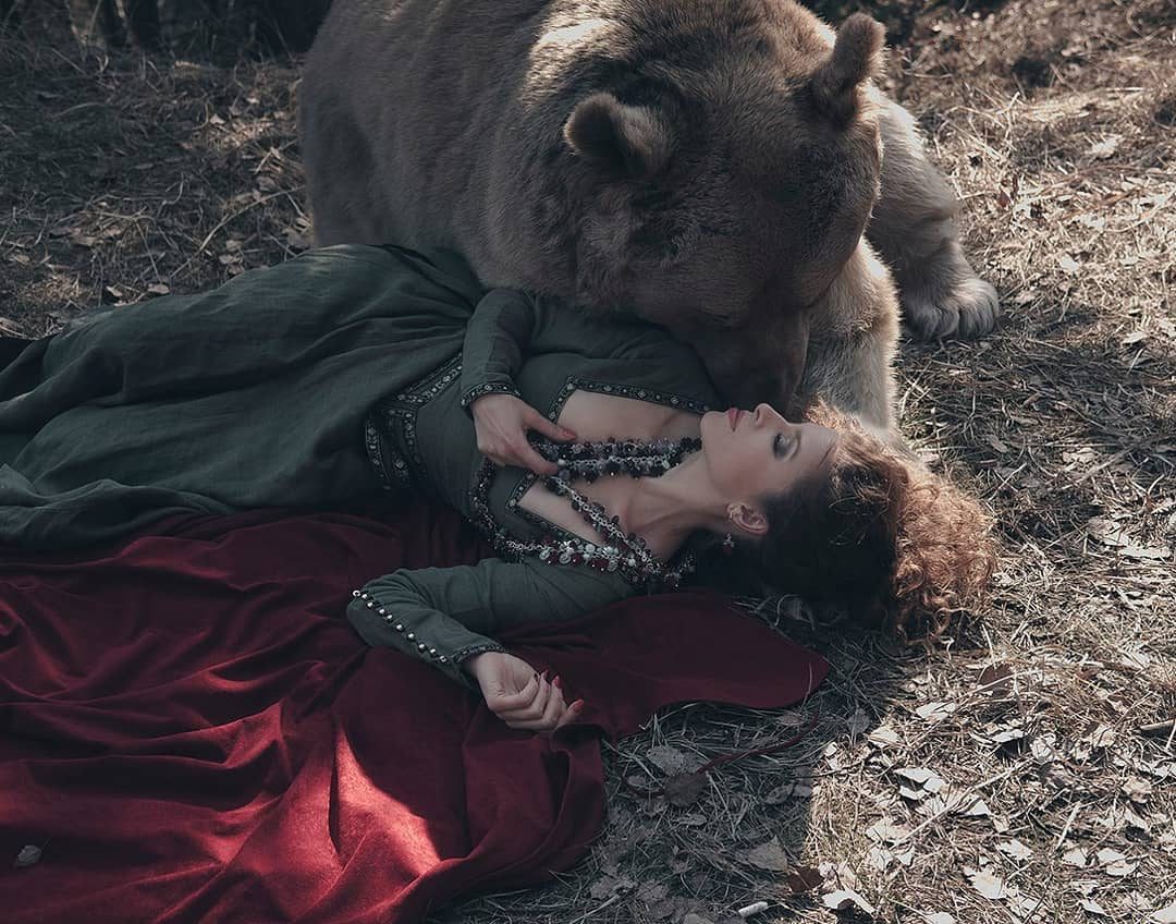 Сказочные снимки с дикими животными Ольги Баранцевой