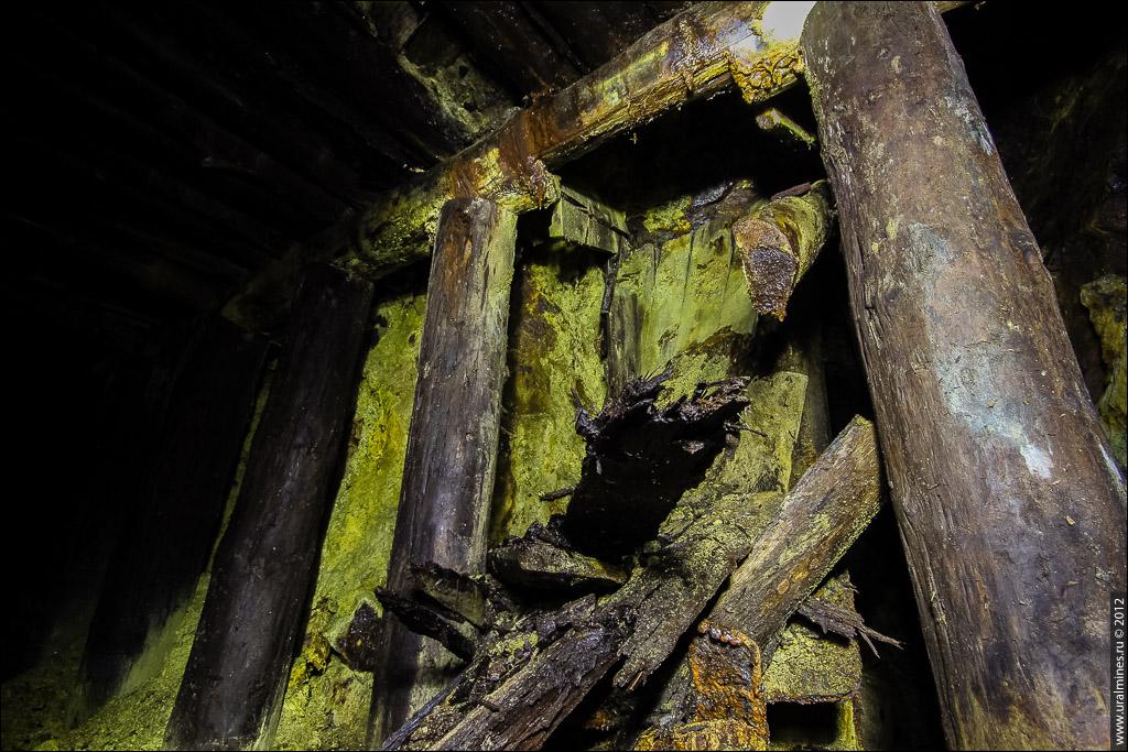 В недрах редких земель заброшенная штольня на Урале