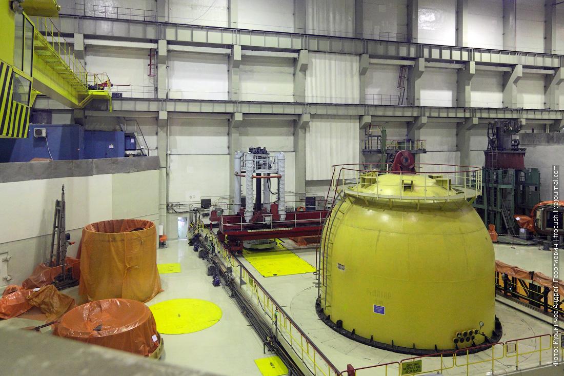 нововоронежская аэс атомный реактор