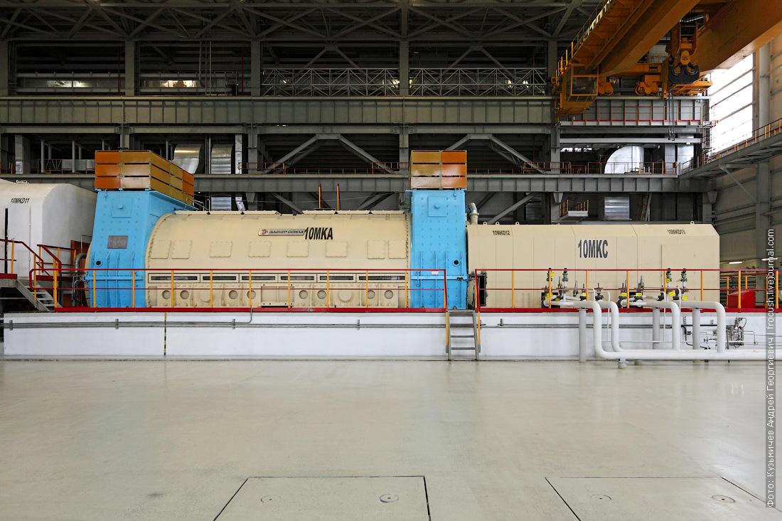 машинный зал 6 нововоронежская аэс генератор
