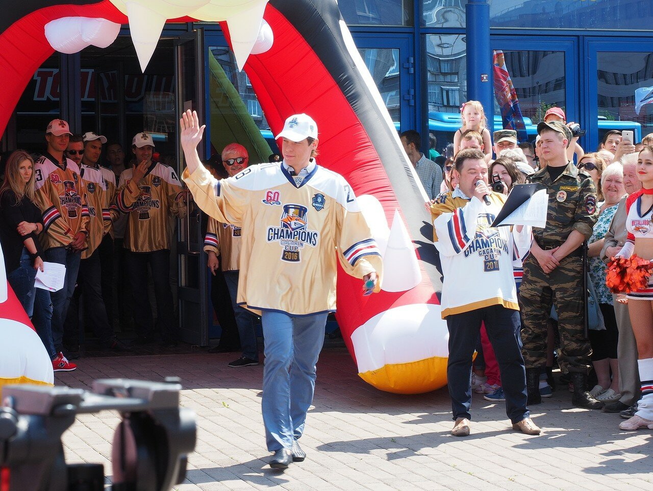 56Церемония чествования команды Металлург27.05.2016