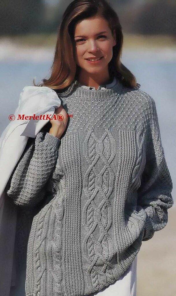 Женские свитера и полуверы