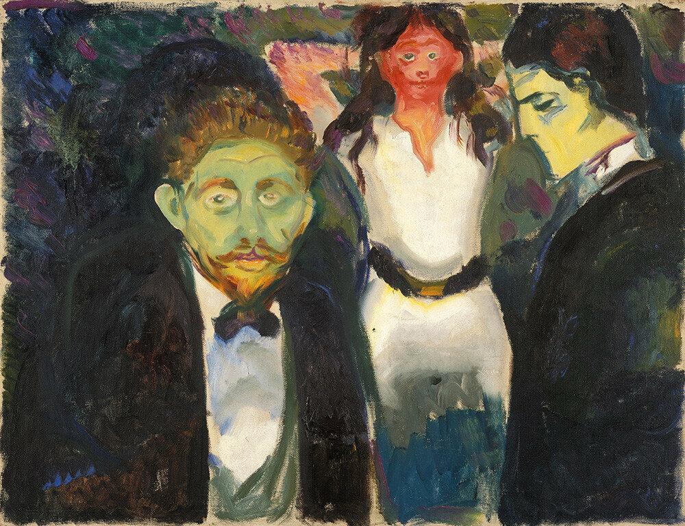 Edvard Munch Ревность