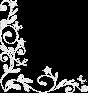 белые уголки