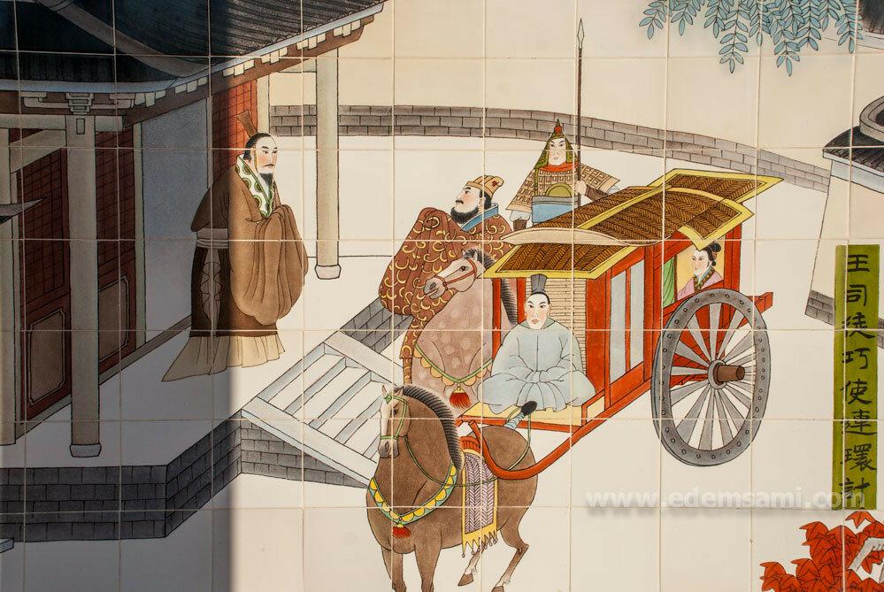 настенные рисунки в Парке Трех Королевств