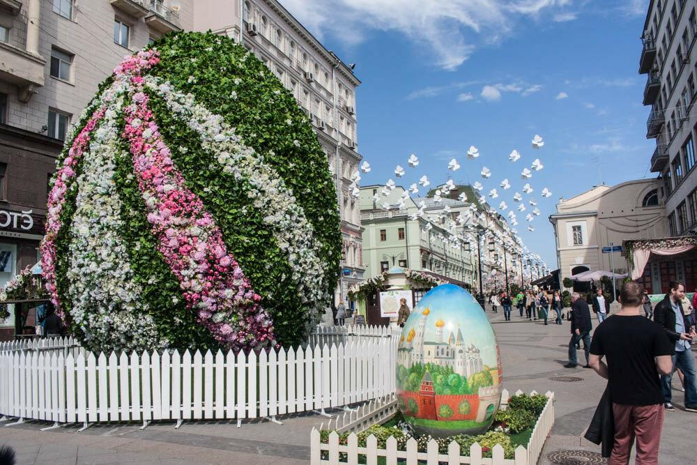 Пасха в Москве
