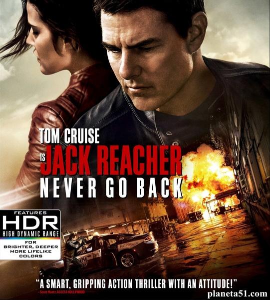 Джек Ричер 2: Никогда не возвращайся / Jack Reacher: Never Go Back (2016/HDTV/HDTVRip)
