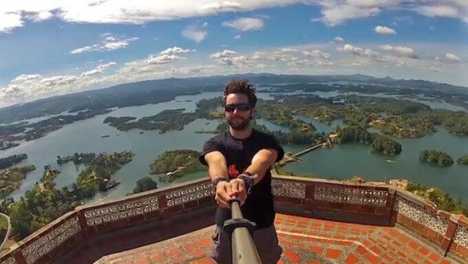 Видео: самое зрелищное селфи в мире бьет рекорды Интернета