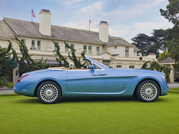 4. Rolls – Royce Hyperion Этот автомобиль был создан в 2008 году для известного британского коллекци