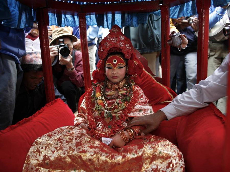 Живые божества из Непала
