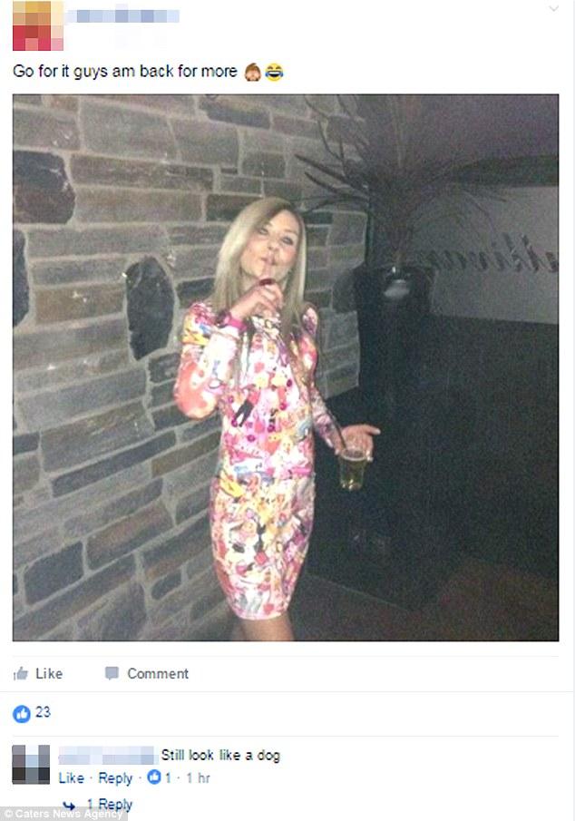 Женщина с этой фотографии призвала комментаторов «действовать», и они так и поступили.