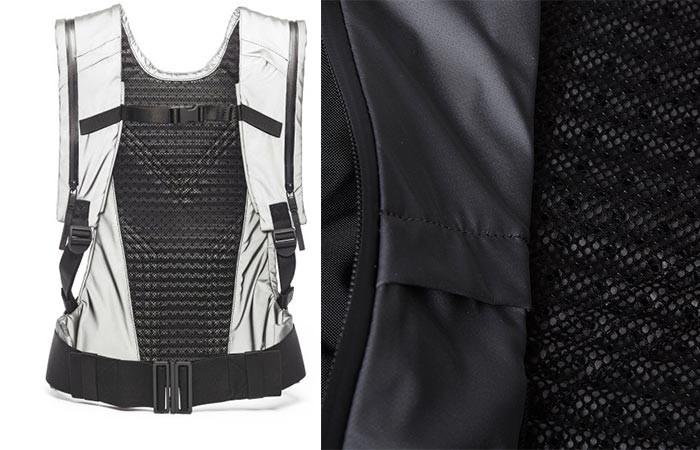 Новый Y-3 Sport Backpack абсолютно не стесняется движений. Он идеально подойдет для путешествий в ди