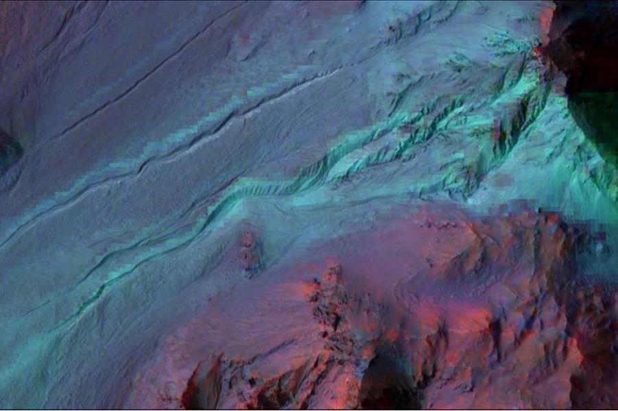 Невероятно разнообразная поверхность Марса