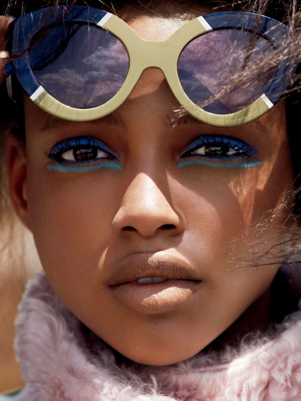 Aya Jones & Angel Rutledge for Allure by Cedric Buchet