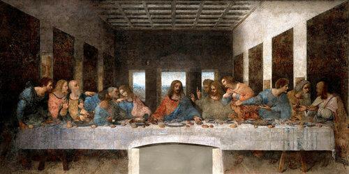 «Тайная вечеря» Леонардо да Винчи