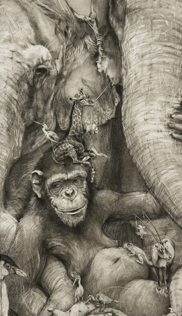 Adonna Khare Amazing Pencil Work