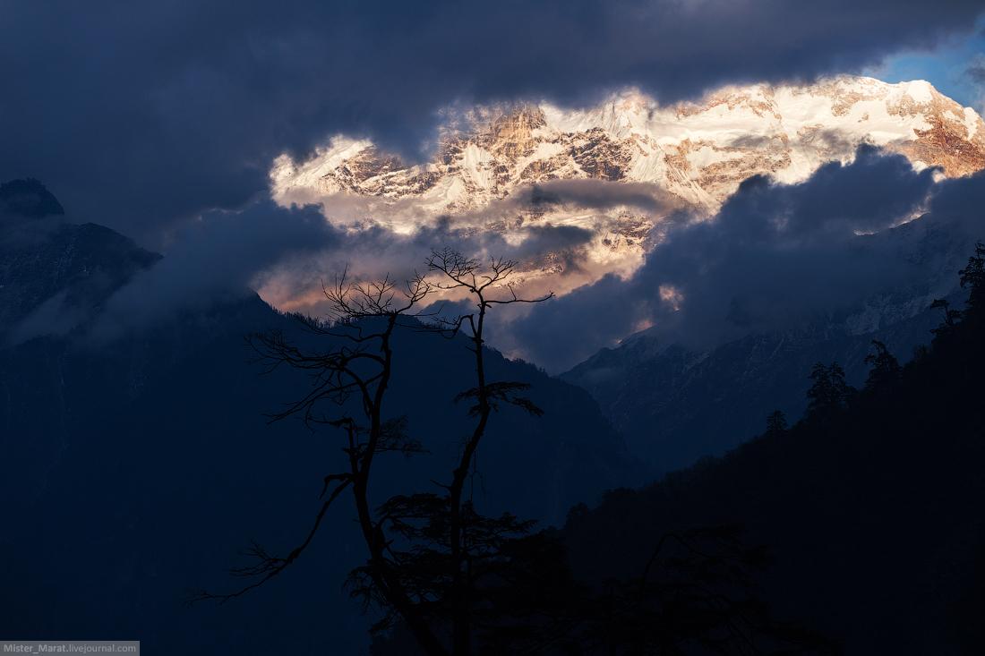 Кольцо Аннапурны или Гималаи глазами дилетанта, день 2-3:набор высоты
