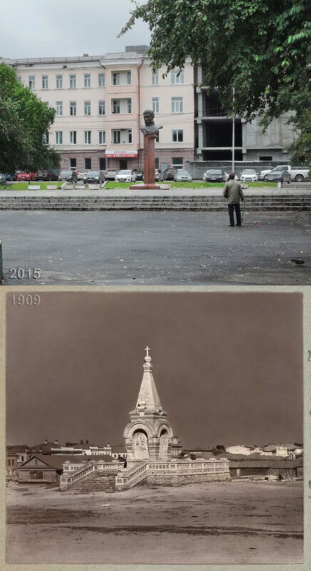 Памятник Императору Александру II в Тагиле.