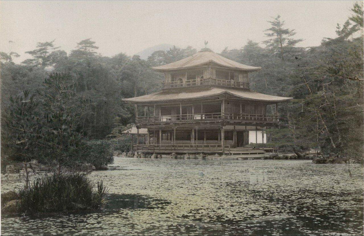 Киото. Сад Кинкаку-дзи
