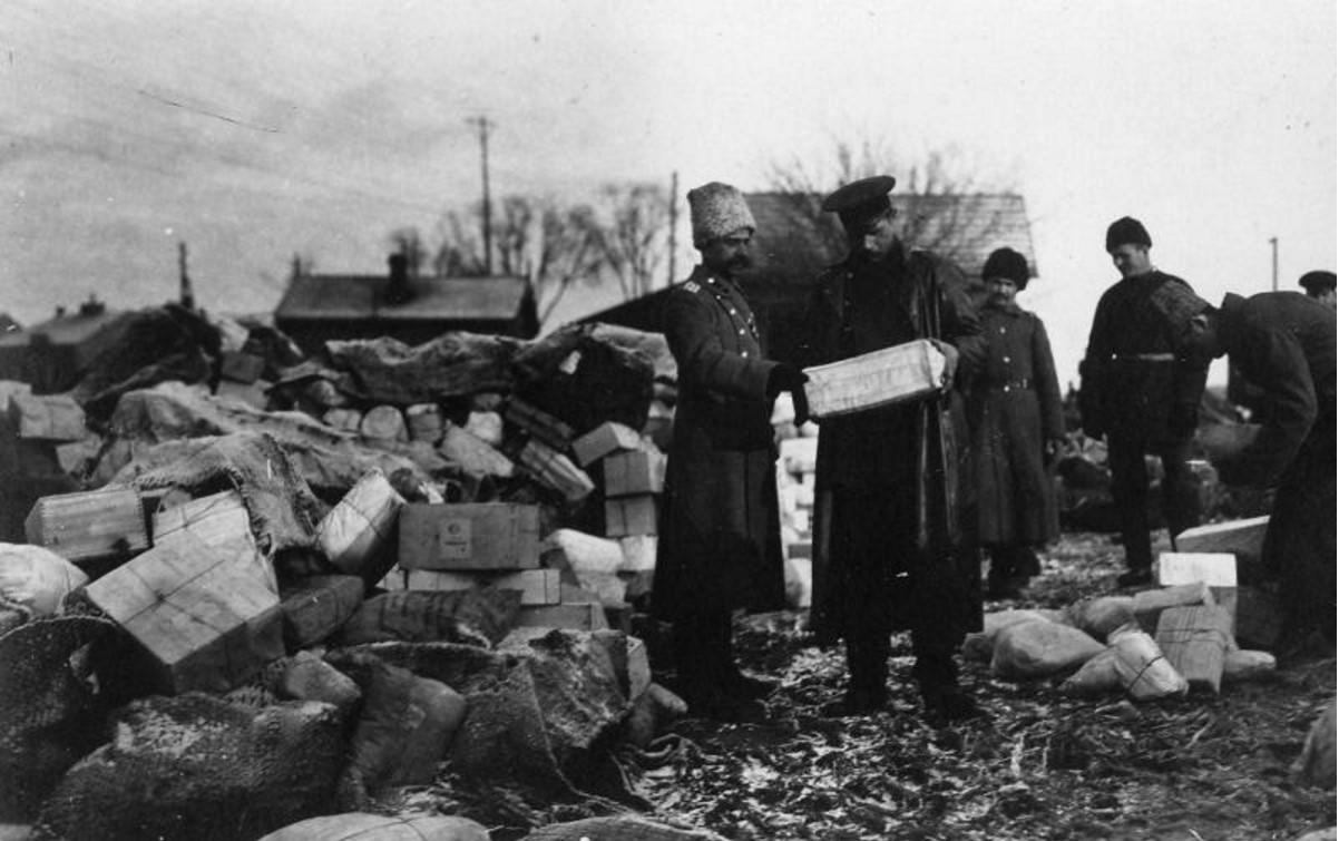 1915. Полевая почта