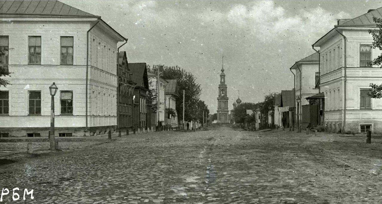 Казанская улица по направлению к Казанской церкви