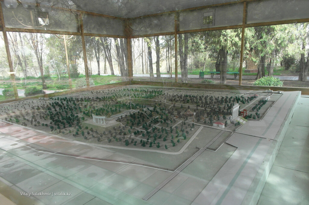Макет дендропарка, Шымкент 2018