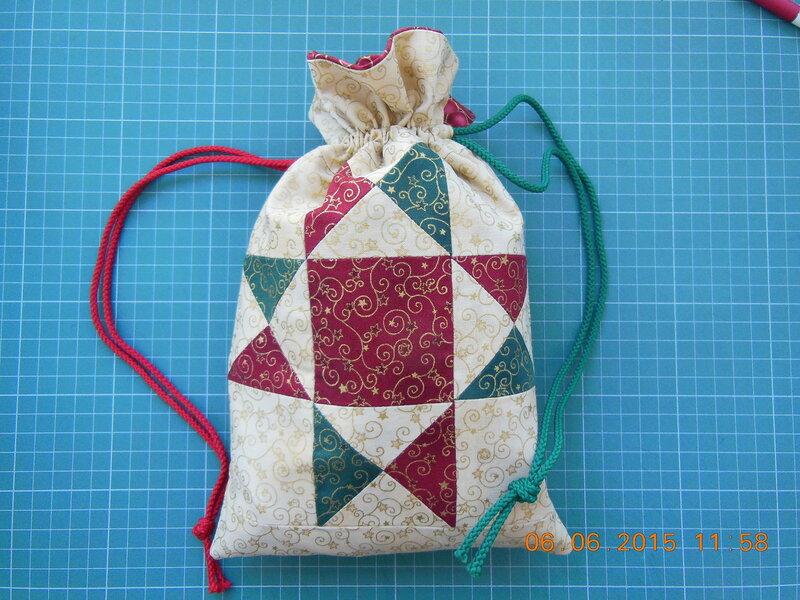 Сшить подарочный мешочек своими руками