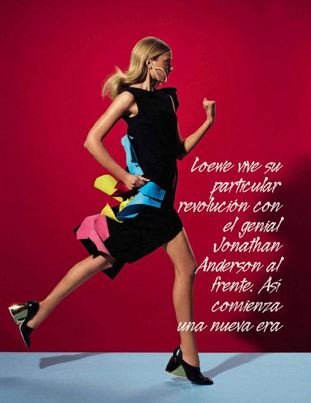 Сигрид Агрен (Sigrid Agren) в журнале Vogue Spain