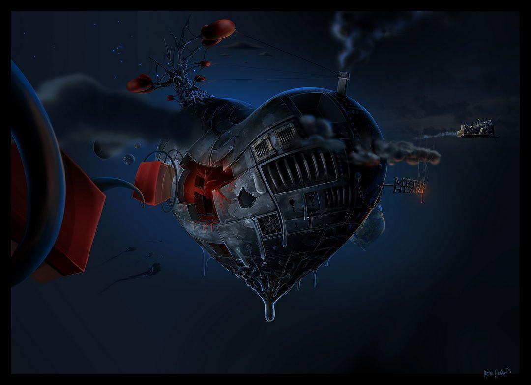 Ненаучная цифровая фантастика от David Fuhrer