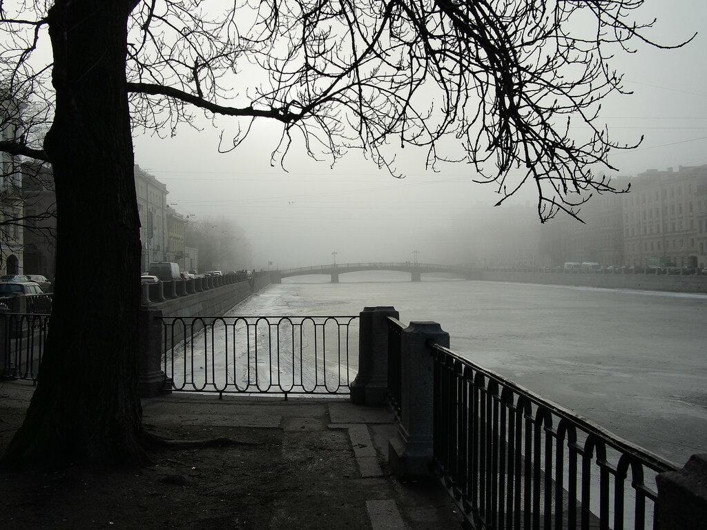 Мартовский туман