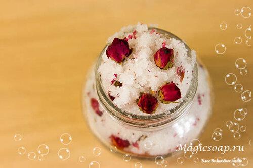 Соль для ванной своими руками рецепт