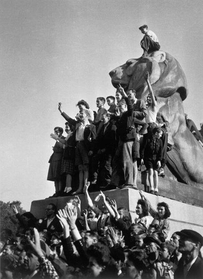 1944. Денфер - Рошро (Лев Бельфор), освобождение Парижа