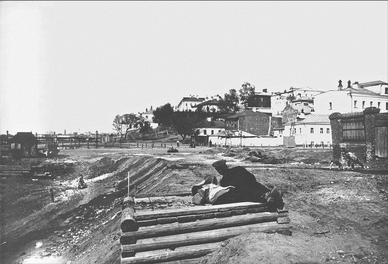 431. Большой Вражский переулок в сторону Дорогомилова