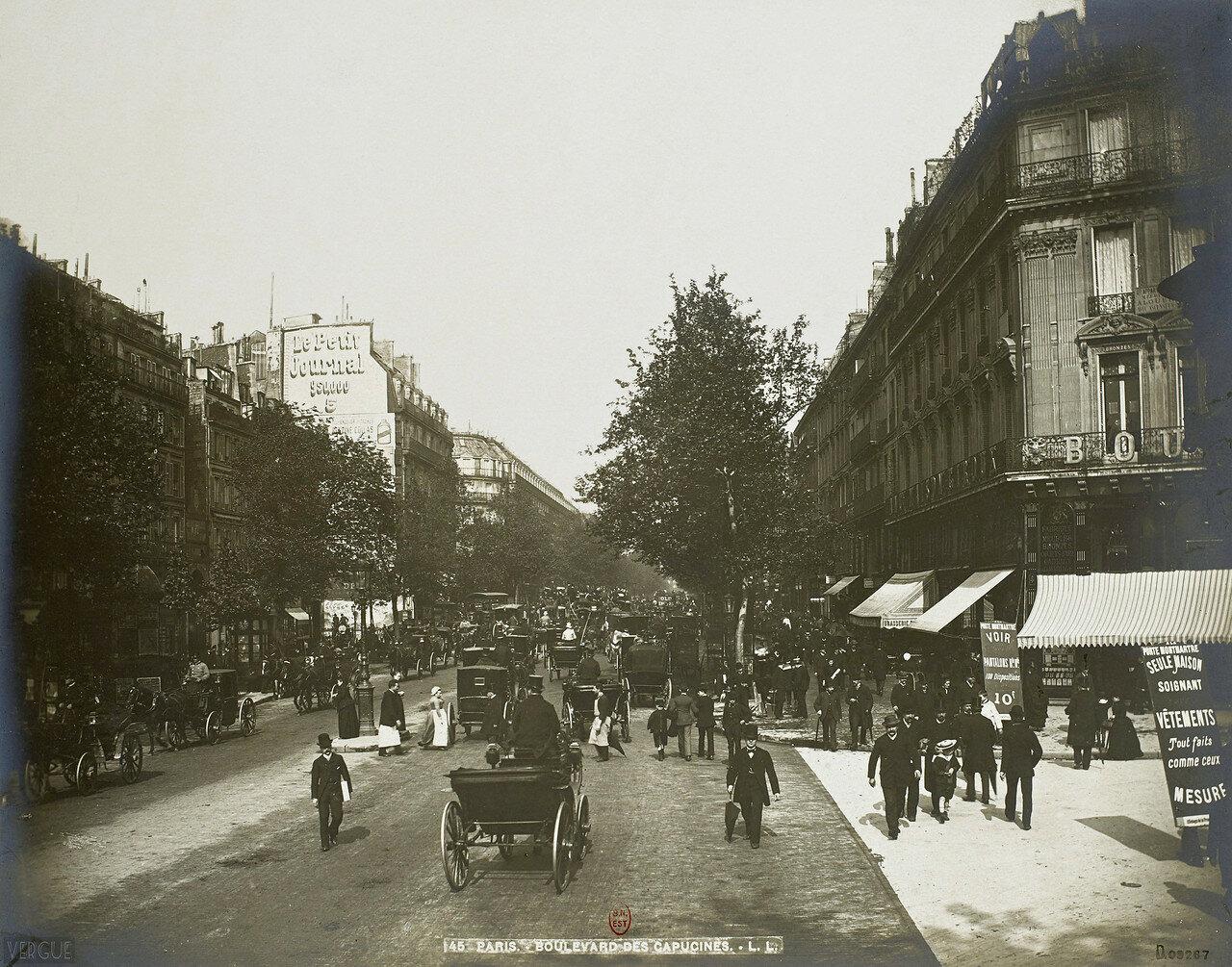 1889. Бульвар Капуцинок