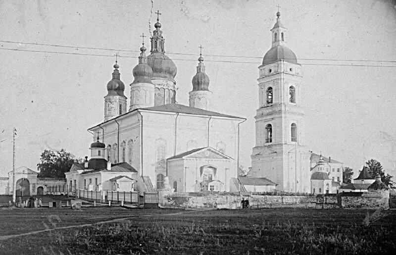 1900е Вид на Софийско-Успенский собор и Соборную колокольню.jpg