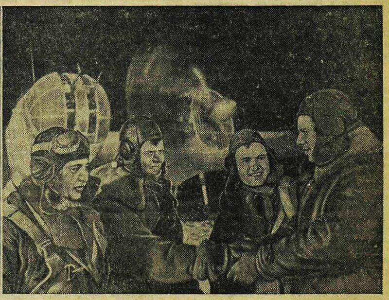 «Известия», 8 апреля 1942 года, советская авиация, авиация войны, авиация Второй мировой войны, сталинские соколы