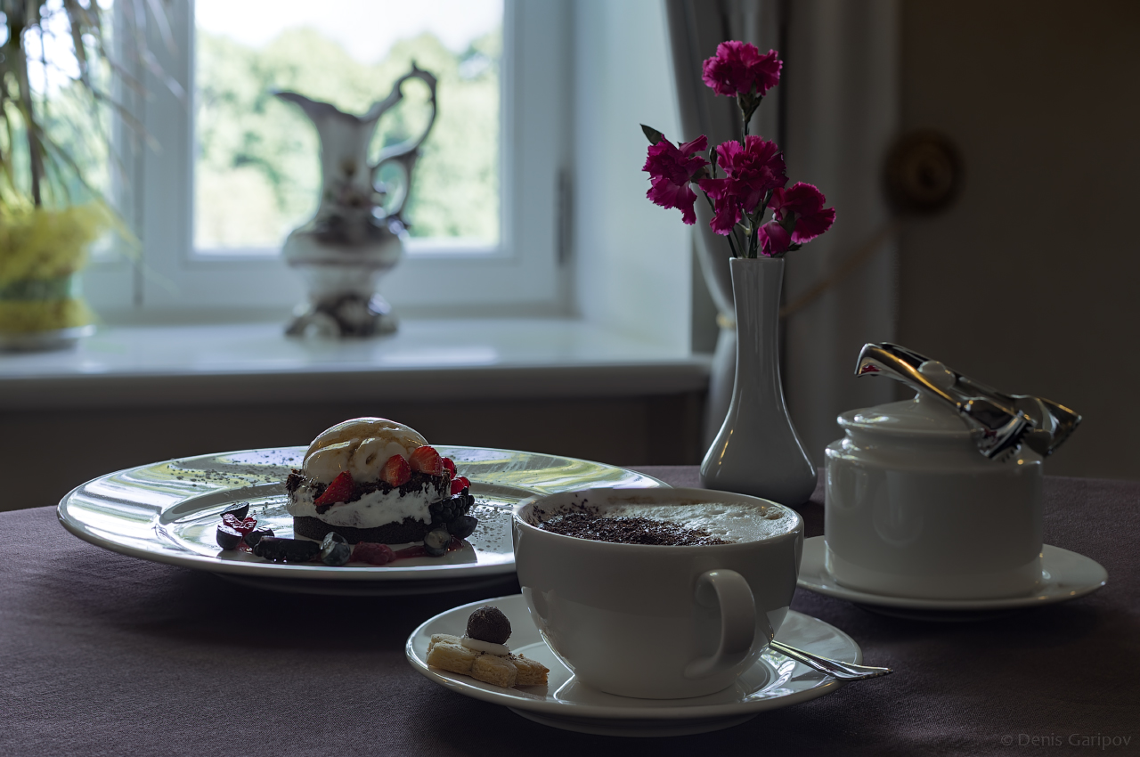 кофе десерт усадьба скрунда skrundas muiza латвия
